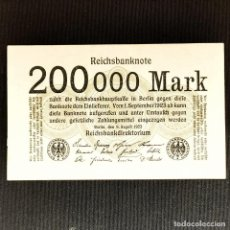 Billetes extranjeros: ⚜️ 200000 MARK 1923. BERLÍN. ALEMANIA. B04. Lote 295381538