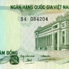 Notas Internacionais: VIETNAM SUR 100 DONG 1970 PICK 26A S/C UNC. Lote 295482053