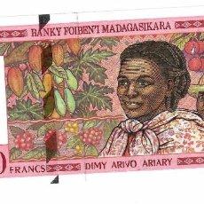 Billetes extranjeros: MADAGASCAR 25000 FRANCS 1998 PICK 82 SIN CIRCULAR. Lote 295850318