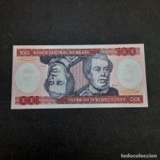 Billetes extranjeros: BILLETE DE 100 CRUZADOS DE BRASIL.SIN CIRCULAR! ORIGINAL%. Lote 295850498