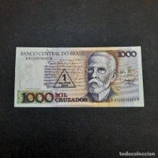 Billetes extranjeros: BILLETE DE 1000 CRUZADOS DE BRASIL.SIN CIRCULAR! ORIGINAL%. Lote 295851278