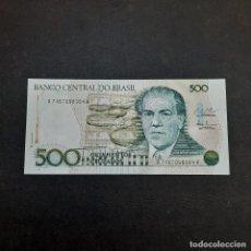 Billetes extranjeros: BILLETE DE 500 CRUZADOS DE BRASIL.SIN CIRCULAR! ORIGINAL%. Lote 295851603