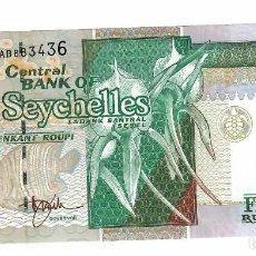 Billetes extranjeros: SEYCHELLES 50 RUPIAS 1996 PICK 37A SIN CIRCULAR. Lote 295853098