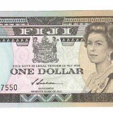 Billetes extranjeros: ISLAS FIJI 1 DOLLAR 1987 PICK 86A SIN CIRCULAR. Lote 295862568