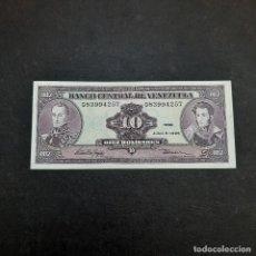 Billetes extranjeros: BILLETE DE 10 BOLIVARES DE VENEZUELA DEL AÑO 1995.S/C. Lote 295862623