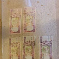 Billetes extranjeros: 8 BILLETES MALTA ORIGINAL %%%%. Lote 296748078