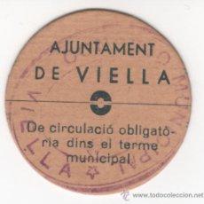 Billetes locales: BILLETE LOCAL....VIELLA....25 CENTIMOS.......SIN CIRCULAR (REF 861). Lote 31112477