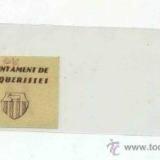 Billetes locales: VACARISES 0,10 PTA ( VAQUERISES ). Lote 31399134