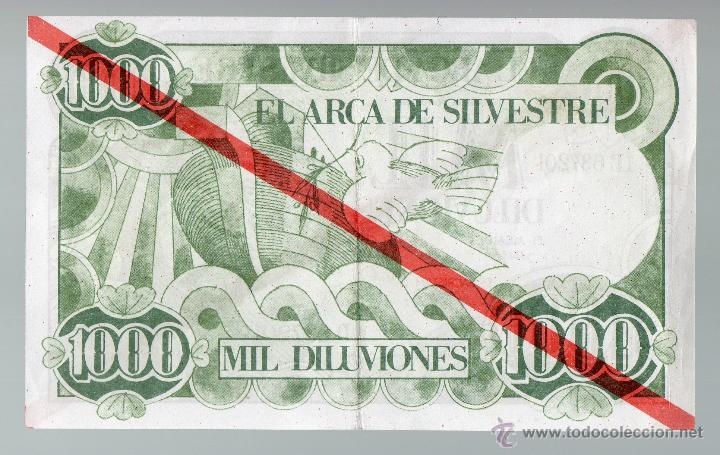 Billetes locales: Mil Diluviones. El Arca de San Silvestre. - Foto 2 - 41729151