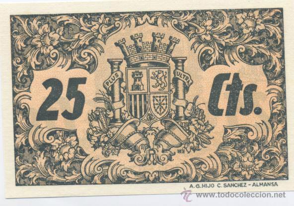 Billetes locales: CONQUISTA- CORDOBA- CONSEJO MUNICIPAL- 25 CENTIMOS - Foto 2 - 46116636