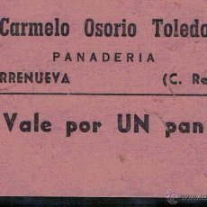 Billetes locales: TORRENUEVA (CIUDAD REAL). Lote 47939803