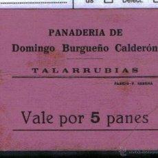 Billetes locales: TALARRUBIAS (BADAJOZ). Lote 47939973