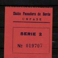 Billetes locales: SEROS (LERIDA). Lote 47955756