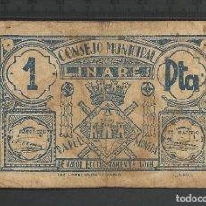 Billetes locales: 1 PESETA - LINARES. Lote 62082956