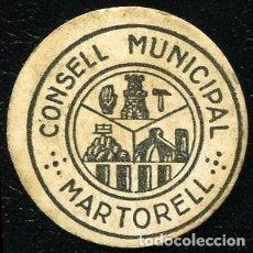 Billetes locales: 10 CENTIMOS MARTORELL (BARCELONA) - EBC+. Lote 65905370