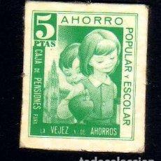 Billetes locales: VALE 5 PESETAS - CAJA DE PENSIONES LA CAIXA - DE CURSO LEGAL 1978 ESCASEZ MONEDA FRACCIONARIA. Lote 75238223