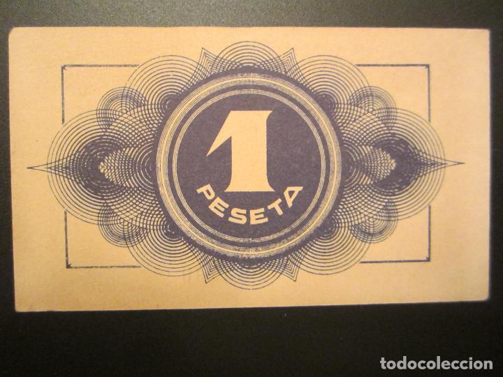 Billetes locales: 1 peseta de Maella raro y mas así - Foto 3 - 49946664