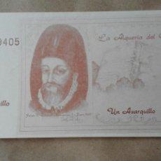 Billetes locales: BILLETE DE 1 AZARQUILLO. Lote 80190774