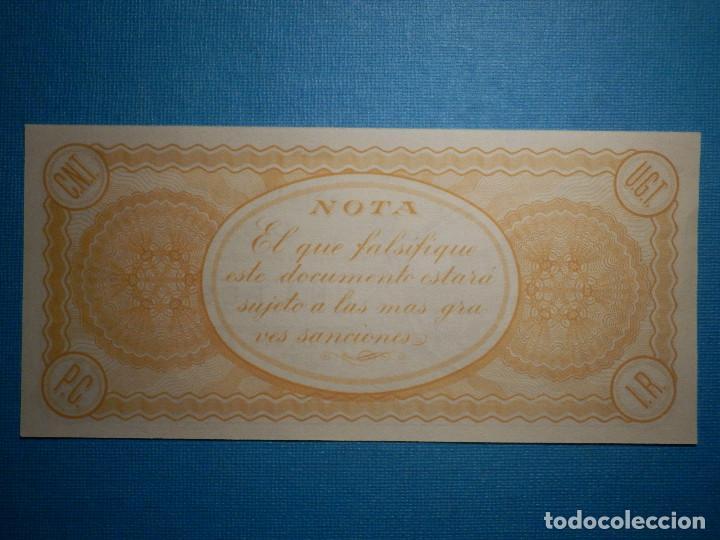 Billetes locales: Billete Local - Valencia - El comite de Enlace de Denia - 26 Septiembre de 1936 - Una Peseta - - Foto 2 - 103045244