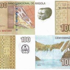 Billetes locales: ANGOLA 100 KWANZAS 2012 PICK 153 SIN CIRCULAR. Lote 82670928