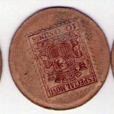 Billetes locales: LOTE 3 MONEDAS SELLOS CARTON. Lote 87532132
