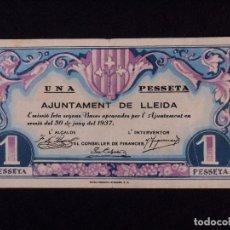 Billetes locales: 50 CÉNTIMOS BILLETE AJUNTAMENT DE LLEIDA 1937. Lote 90952900