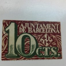 Billetes locales: BILLETE LOCAL BARCELONA. Lote 102076726