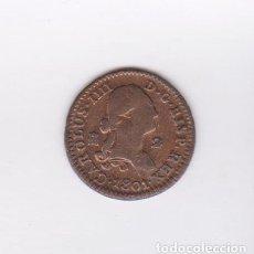 Billetes locales: (MONEDAS) CARLOS IIII - 2 MARAVEDIS 1801 (SEGOVIA) - CCT-1379. Lote 104277771