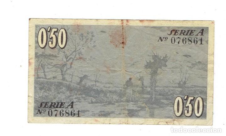 Billetes locales: consell municipal dolot 50 cèntims - Foto 2 - 108847659