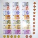 Billetes locales: BILLETES EUROS PARA JUEGOS INFANTILES. TROQUELADOS. NUEVOS.. Lote 130380942