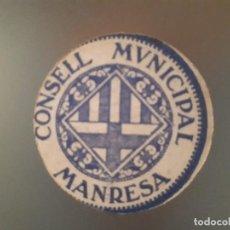 Billetes locales: BILLETE DE MANRESA - 15 CÉNTIMOS. Lote 137815586
