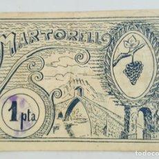 Billetes locales: F 1645 BILLETE CONSEJO MUNICIPAL DE MARTORELL MBC+ T-1649. Lote 138903050
