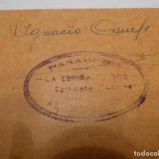 Billetes locales: VALE PANADERIA IGNACIO CAMPS ALAMUS 100 K HARINA. Lote 139827658