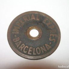 Billetes locales: FICHA ...IMPERIAL EXPRES..BARCELONA.. Lote 150127582