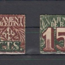 Billetes locales: BARCELONA. MONTANER 236A/B. Lote 161204234