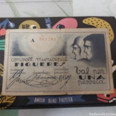 Billetes locales: BILLETE 1 PESETA DE FIGUERES DE 1937. Lote 177712235