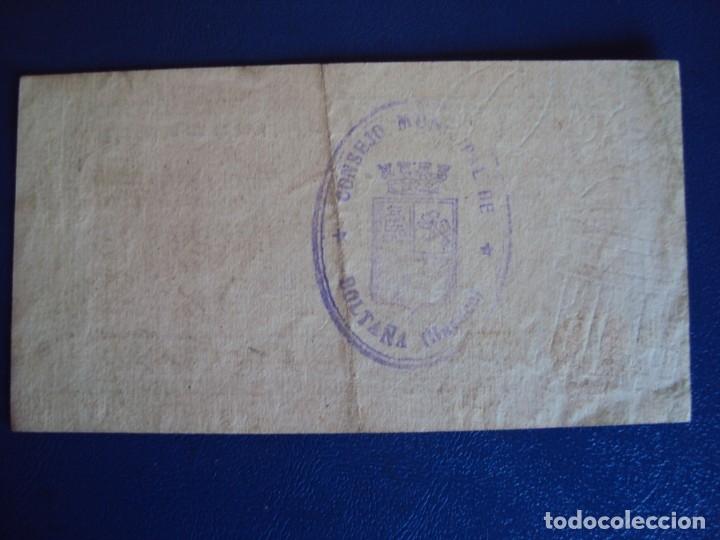 Billetes locales: (BP-20)CONSEJO MUNICIPAL DE BOLTAÑA(HUESCA) - 1 PESETA - GUERRA CIVIL - Foto 2 - 182163507