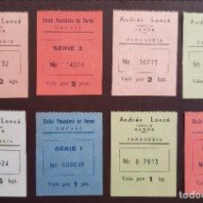 Billetes locales: 10 VALES- BILLETES GUERRA CIVIL DE PANADERIAS. Lote 191073132