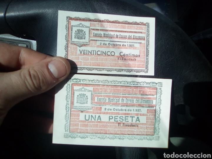 BILLETES CUEVAS DEL ALMANZORA (Numismática - Notafilia - Billetes Locales)