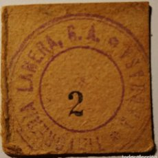 Billetes locales: TINTORERÍA LANERA - TERRASSA - 2. Lote 193644083