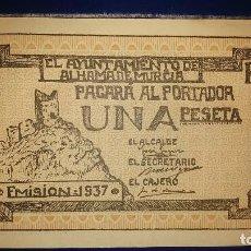 Billetes locales: BILLETES LOCALES GUERRA CIVIL ESPAÑOLA 1937. Lote 195465832