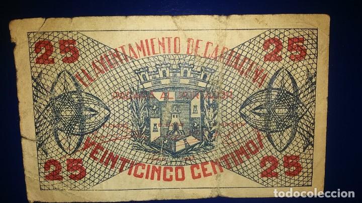 BILLETES LOCALES AYUNTAMIENTO DE CARTAGENA, MURCIA (Numismática - Notafilia - Billetes Locales)