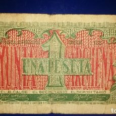 Billetes locales: BILLETES LOCALES GUERRA CIVIL ESPAÑOLA 1937. Lote 195476673