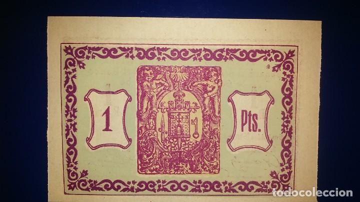 Billetes locales: CONSEJO MUNICIPAL DE TOTANA. (MURCIA) 1 PESETA EMISION 15 MAYO 1937 - Foto 2 - 195478830