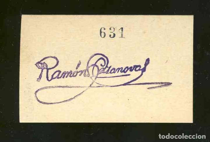 Billetes locales: Vale de 10 Kgs. de PAN de Panaderia Jose Sole de Concabella (Lleida) (post guerra civil) - Foto 2 - 19803043