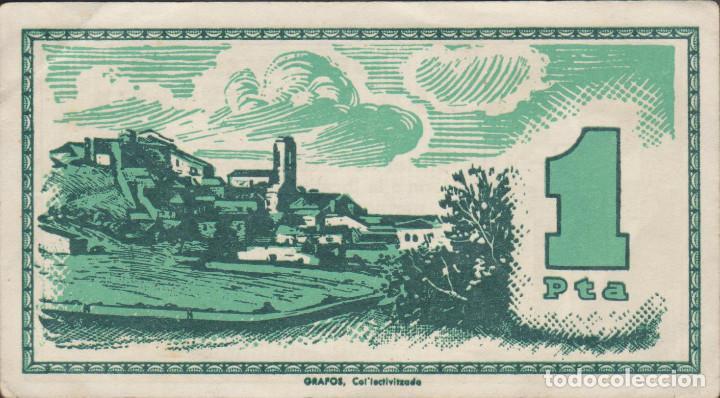 Billetes locales: BILLETES LOCALES - LA MANRESANA - LLEIDA - 1 PTA. S/F - T-1626B ( EBC ) - Foto 2 - 209840835