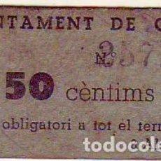Billetes locales: AYUNTAMENT DE GAVA. Lote 210709919