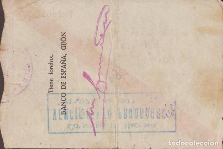 Billetes locales: BILLETES LOCALES - GIJÓN (ASTURIAS) 100 PESETAS 1936 - PG-407 (MBC-) - Foto 2 - 216643016