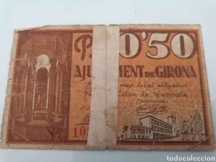 Billetes locales: GIRONA. 50 CENTIMS. - Foto 2 - 217486902