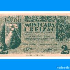 Billetes locales: MONTCADA I REIXAC 25 CTS T-1792 C SC-. Lote 230963335